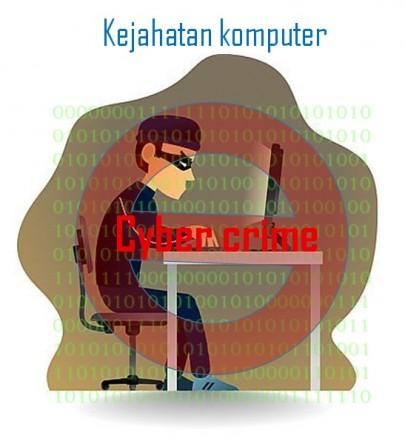 Pengertian Kejahatan komputer dan jenis-jenisnya