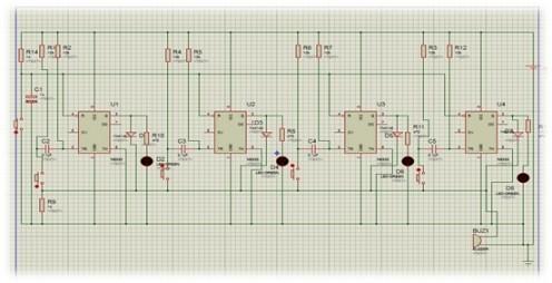 Membuat Rangkaian Bel Cerdas Cermat Sederhana dengan IC NE555