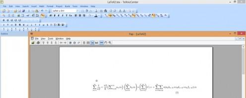 Langkah Mudah Belajar LaTex dengan otodidak untuk menulis formula matematis