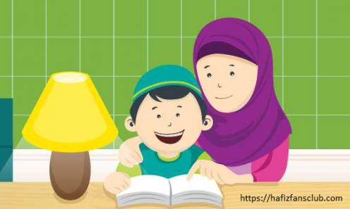 Ibu Menghafal Al-Qur'an, Anak Ikut Hafal