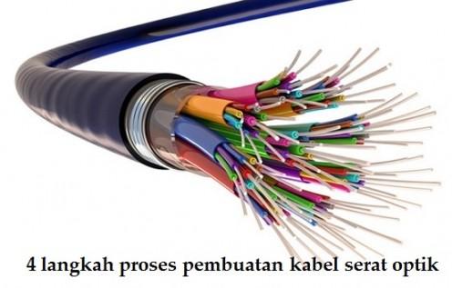 4 langkah proses pembuatan kabel serat optik