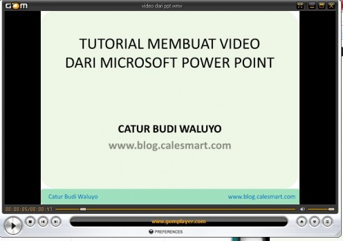 Bingung cara membuat video ? 6 langkah mudah membuat video dengan Microsoft Powerpoint 2010