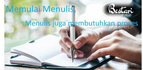 START DULU BARU BISA SAMPAI FINISH (Menulis juga butuh proses)