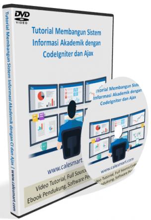 Tutorial Membangun Sistem Informasi Akademik dengan CodeIgniter dan Ajax