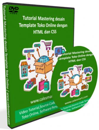 Tutorial Mastering Desain Template Toko Online dengan HTML dan CSS