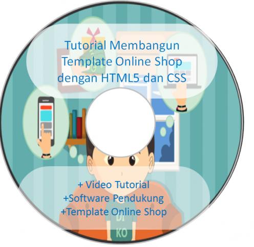 DVD Tutorial: Membangun Template Online Shop dengan HTML5 dan CSS